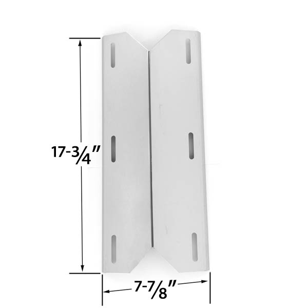 STAINLESS-STEEL-HEAT-PLATE-SHIELD-REPLACEMENT-FOR-JENN-AIR-720-0163-730-0163-NEXGRILL-720-0163-720-0164-720-0165-GAS-GRILL-MODELS