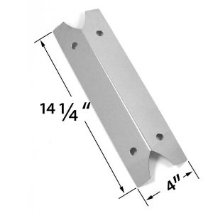 STAINLESS-STEEL-HEAT-SHIELD-FOR-BRINKMANN-810-9210-S-910-9210S- 810-9410S-810-9410-S-810-9510S-810-9510-S-810-9211S