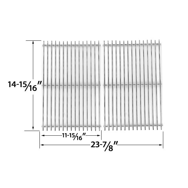 STAINLESS-STEEL-REPLACEMENT-COOKING-GRID-FOR-CHARBROIL-463350108-463350505-463351505-463351605-463352505