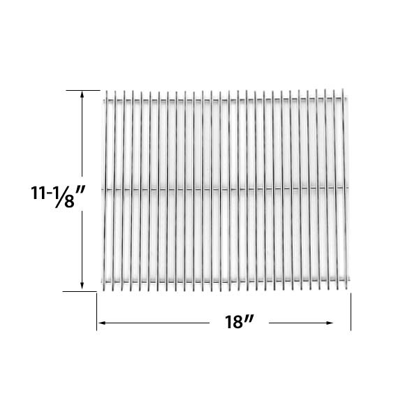 STAINLESS-STEEL-REPLACEMENT-COOKING-GRID-FOR-UNIFLAME-GBC772W-GBC772W-C-GBC873W-GBC873W-C-GBC873WNG-GBC873WNG-C-GAS-GRILL-MODELS