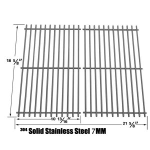 STAINLESS-COOKING-GRATES-FOR-CUISINART-85-3030-8-C560S-G41208-GAS-GRILL-MODELS