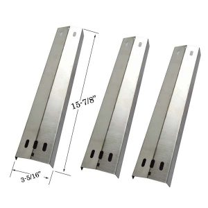 STAINLESS-HEAT-SHIELD-FOR-KENMORE-141.16306-(3-PK)-GAS-MODEL