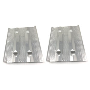 2 PACK STAINLESS STEEL HEAT PLATE FOR FIRE MAGIC 14-S1S1N-A, 22-S2S1N-87, 24-S1S1N-62, 34-S2S1N-A, CUSTOM I, REGAL I GAS MODELS