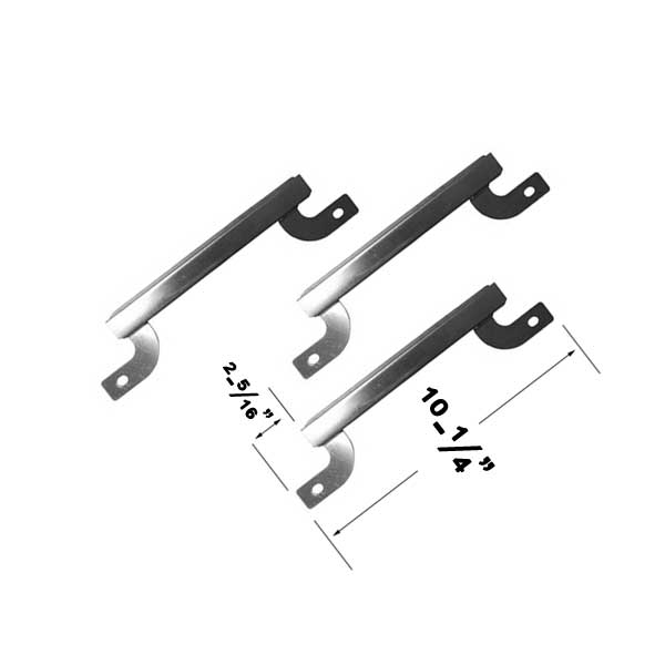 3 Pack Stainless Steel Crossover Tube For Brinkmann 810-8445-F, 810-8300, 810-9325-0, Grill King 810-9325-0 Gas Grill Models