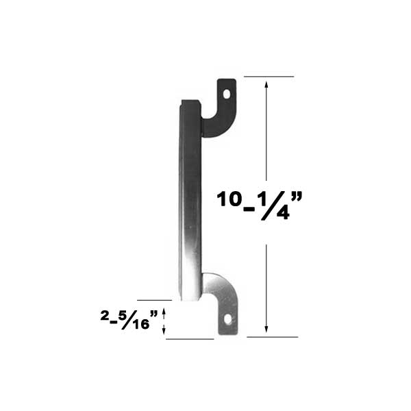 Stainless Steel Crossover Tube For Brinkmann PRO SERIES 8300, 810-8445-W, 810-8448-F Gas Grill Models