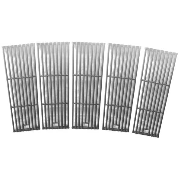 Replacement 5 Pack Cast Iron Cooking Grates For Kenmore 141.16323, 141.163231, 141.16324, 141.173291, 141.173292, 141.17682 Gas Grill Models