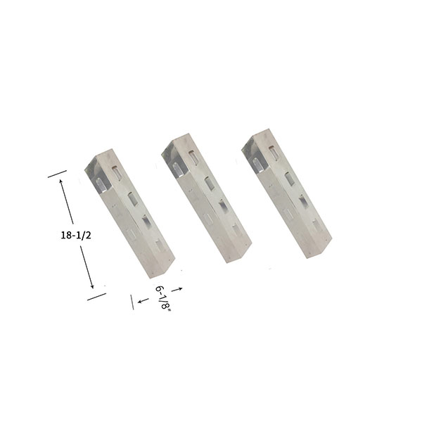 Replacement Stainless Steel 3 Pack Heat Shield For Kenmore 16120, 415.16120801, 415.1612801 Gas Grill Models