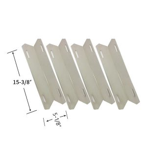 Replacement Stainless Steel 4 Pack Heat Shield For Member's Mark 720-0582, 720-0582B Gas Grill Models