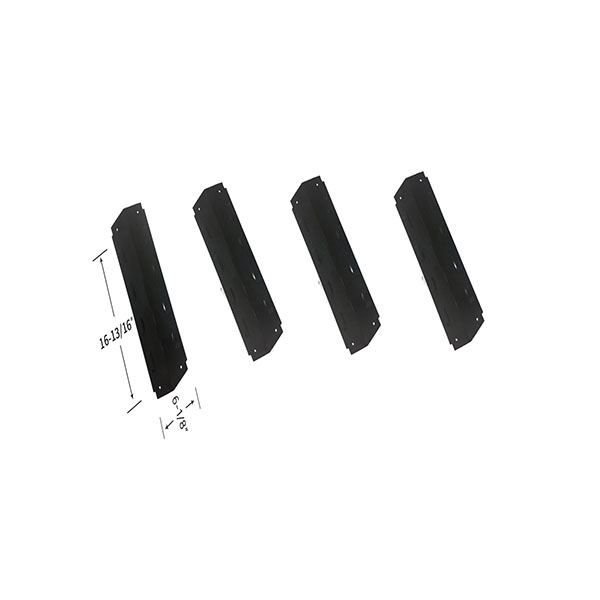 Replacement Stainless Steel 4 Pack Heat Shield For Thermos 461630208, 461630509, 461630710 Gas Grill Models