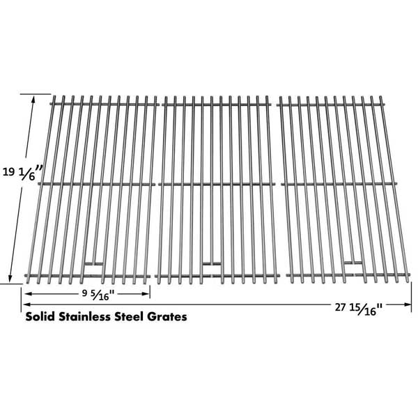 BRINKMANN STAINLESS COOKING GRATE FOR 810-1750-S, 810-1751-S, 810-3551-0, 810-3751-F GAS MODELS