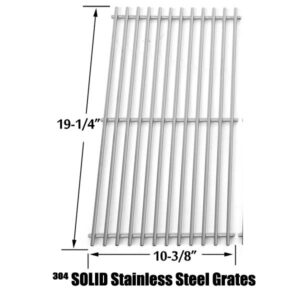 STAINLESS STEEL COOKING GRATES FOR NEXGRILL 720-0650A 720-0522 740-0593A GAS MODELS