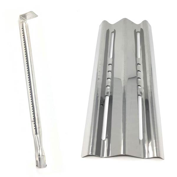 REPLACEMENT NAPOLEON GRILL BURNER & STAINLESS STEEL HEAT SHIELD