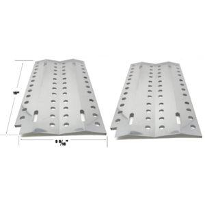 GRILL REPAIR 2 PACK STAINLESS STEEL HEAT PLATE FOR DCS 36, 48, 36A-BQARS, 36BQAR, 48BQRS, 36-BQARS, 36-BQAS, 36-BQRS GAS GRILL MODELS