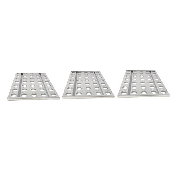 GRILL REPAIR 3 PACK STAINLESS STEEL HEAT PLATE FOR ALFRESCO AGBQ-30B, AGBQ-30C, AGBQ-30CD, AGBQ-30SZC, AGBQ-42SZC, AGBQ-30 GAS GRILL MODELS