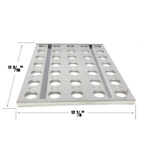 GRILL REPAIR STAINLESS STEEL HEAT PLATE FOR ALFRESCO AGBQ-30B, AGBQ-30C, AGBQ-30CD, AGBQ-30SZC, AGBQ-42SZC, AGBQ-30 GAS GRILL MODELS