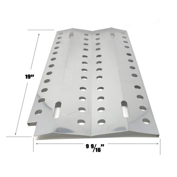 GRILL REPAIR STAINLESS STEEL HEAT PLATE FOR DCS 36, 48, 36A-BQARS, 36BQAR, 48BQRS, 36-BQARS, 36-BQAS, 36-BQRS GAS GRILL MODELS