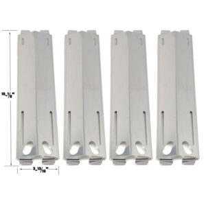GRILL-REPLACEMENT-4-PACK-STAINLESS-STEEL-HEAT-PLATE-FOR-SAMS-M3207ALP-KENMORE-GRAND-ROYALE-GRAND-CAFE-MEMBERS-MARK-BAKERS-CHEFS-GAS-GRILL-MODELS