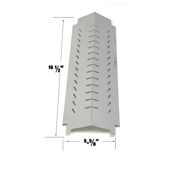 GRILL REPLACEMENT STAINLESS STEEL HEAT PLATE FOR CENTRO G60105, 85-1095-6, CHAR-BROIL 463260307 GAS GRILL MODELS